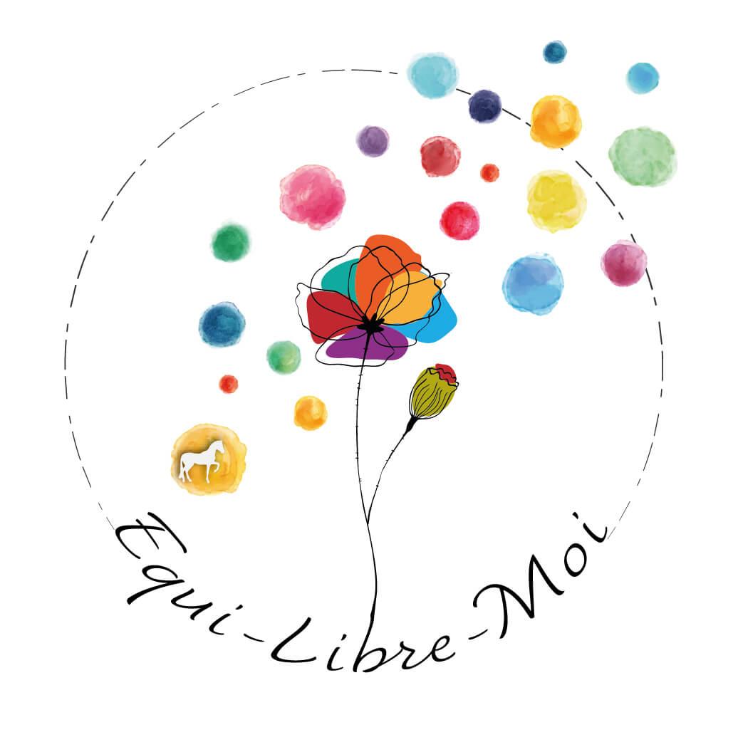 Logo Equi-Libre-Moi - Let You Shine Graphiste et créatrice d'identité visuelle