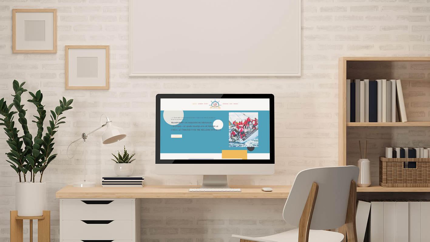 Lead as a Skipper - création de site internet - Let You Shine - Créatrice Web