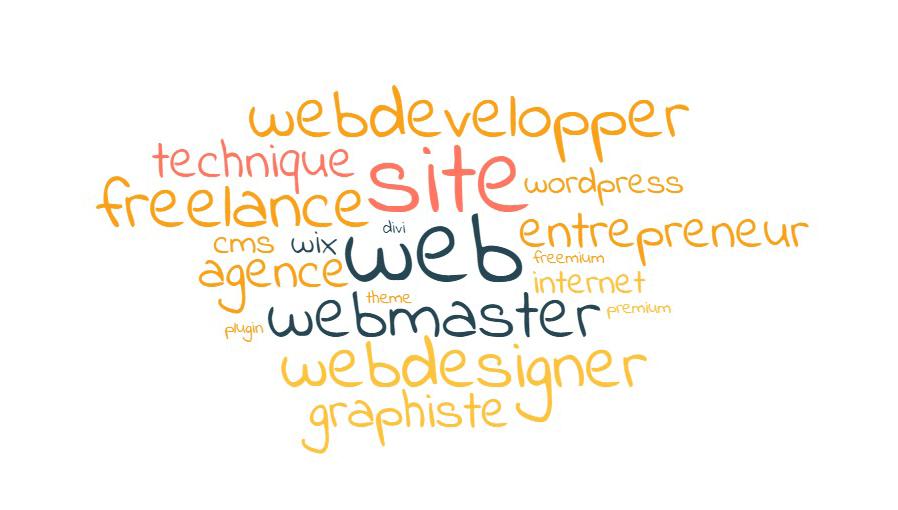 comment choisir mon webdesigner - nuage de mot - Let You Shine - Virginie Gruber