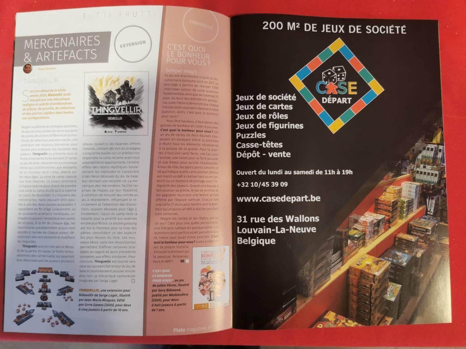 Magazine - création graphique - Let You Shine - Virginie Gruber